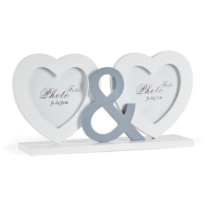 2 Hearts Photo Frame Down From £7 to £4.9