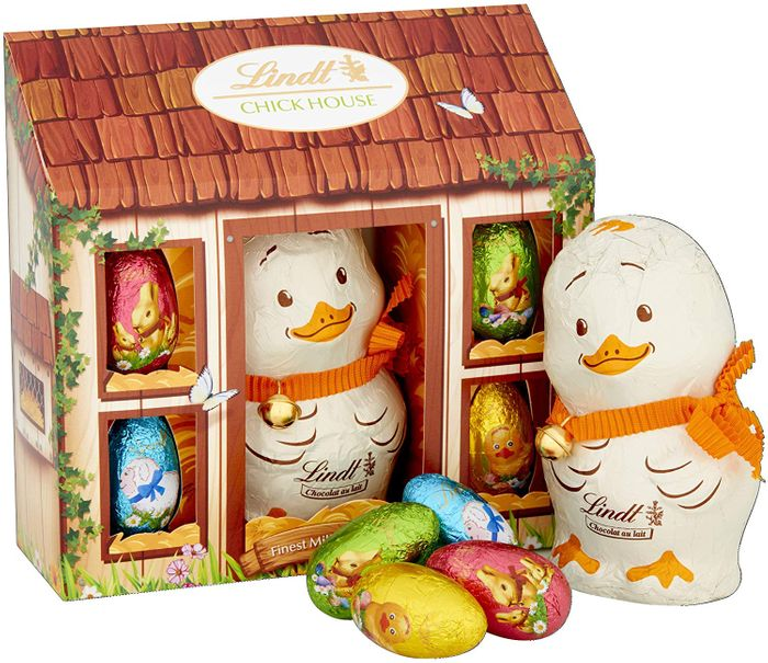 Cheap Lindt Charlie Chick Novelty Milk Chocolate Easter Gift Set, Only £4.99!