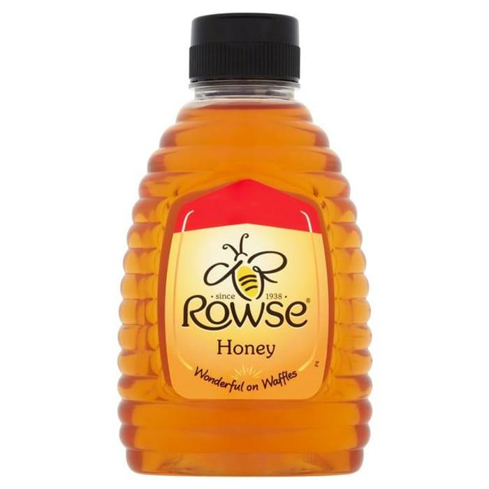 Rowse Natural Blossom Honey Squeezy 340g