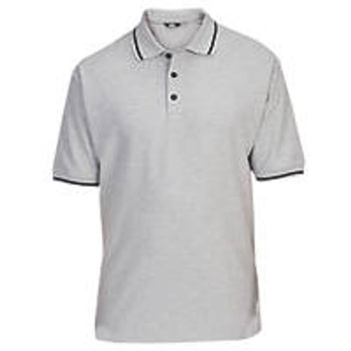Site Tanneron Polo Shirts Grey (Medium / Large / X-Large) for 33%off@ Screwfix )