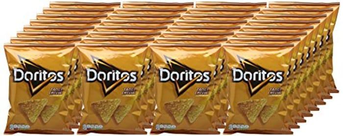 Price Drop! Doritos Tangy Cheese Tortilla Chips Case, 32 Units X 40 G