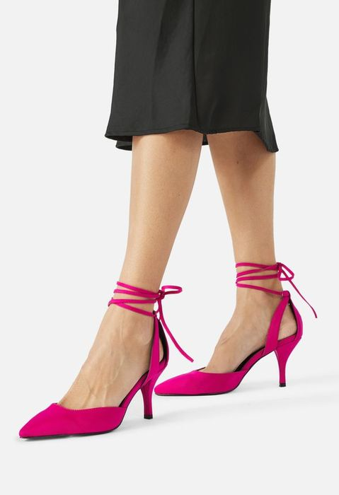 Gracie Ankle Lace-up Courts