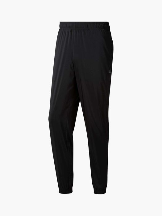 Reebok Training Essentials Cuffed Tracksuit Bottoms, Black