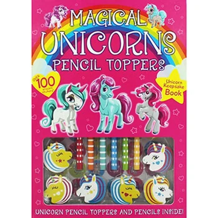 Magical Unicorn Pencil Toppers