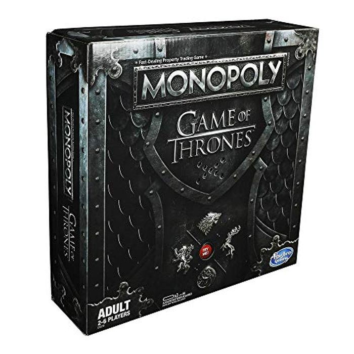 Hasbro Gaming Monopoly Game of Thrones Board Game for Adults - Only £24.95!