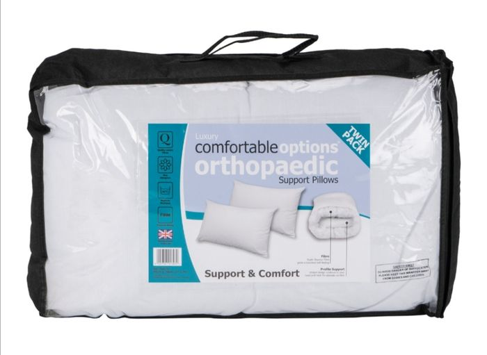 Orthopaedic Support Pillows Twin Pack