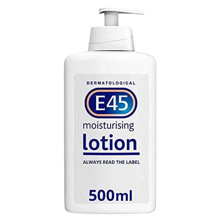 E45 Dermatological Moisturising Lotion, 500 Ml