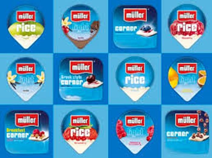 Muller Corner, Light or Rice Any 12 for £3.00