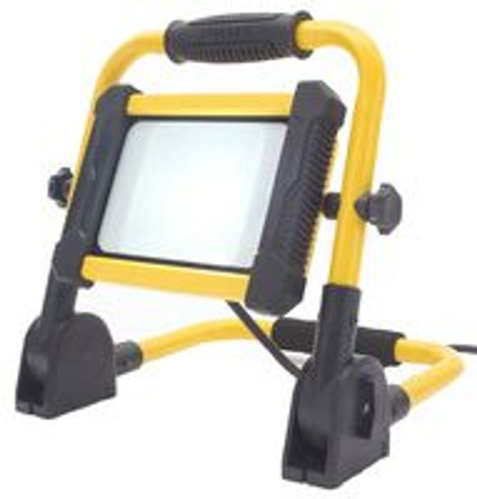 STANLEY SXLS31335E 20W Folding LED Worklight, 1500lm, 6000K, IP65 Free Delivery