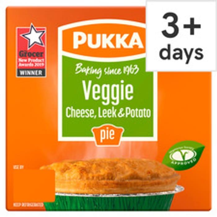 Pukka Pies (Various) down to £1 at Tesco