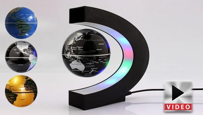 LED Magnetic Levitating Floating Globe Lamp - 3 Styles