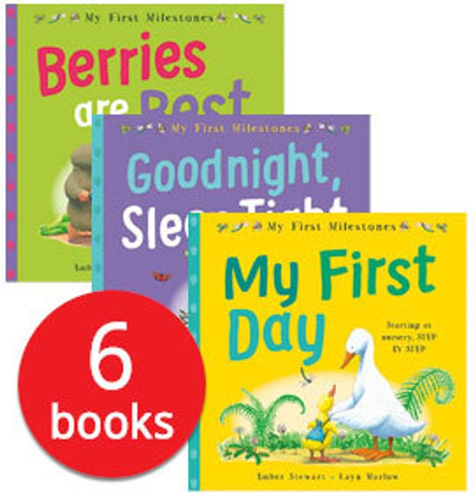 First experiences collection of 6 books Down From £41.94 to £3