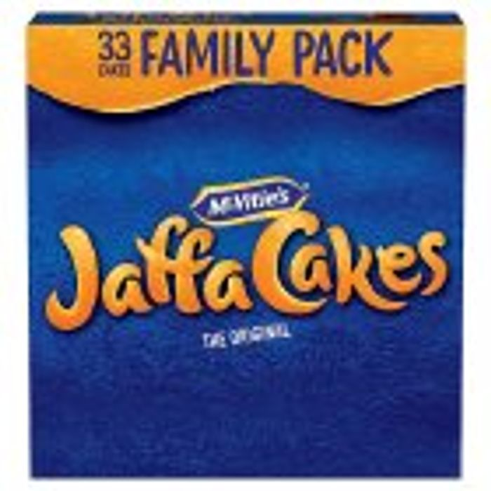 McVitie's Jaffa Cakes Triple 3x11 402g from Sainsbury's : Was £3.00 Now £1.50