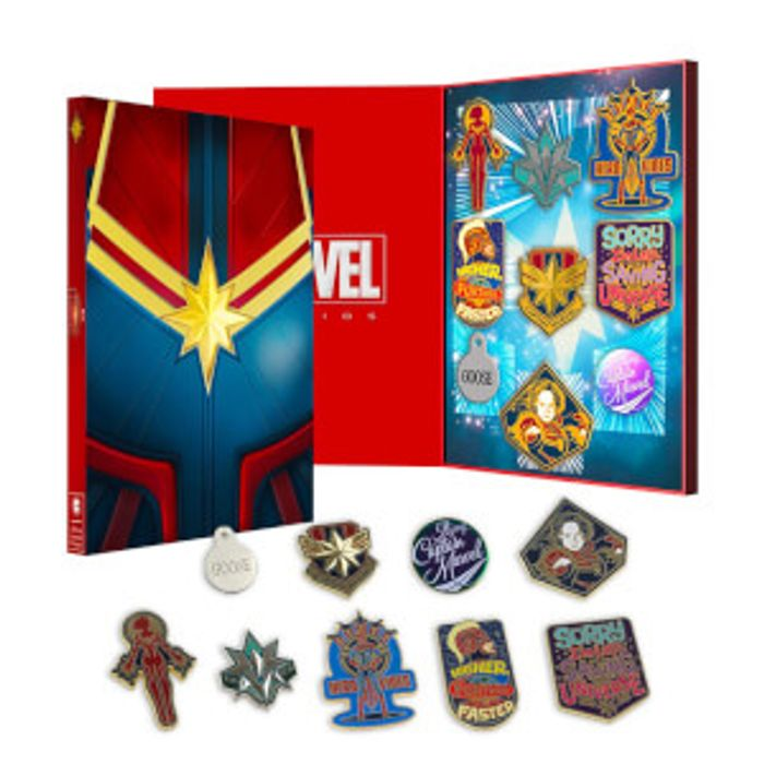 Captain Marvel Zavvi Exclusive Limited Pin Set