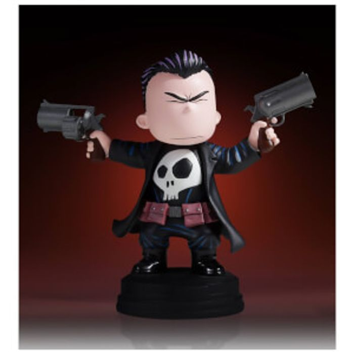 Gentle Giant Marvel Comics Punisher Animated Statue - 10cm