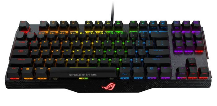 ASUS ROG Claymore RGB Mechanical Gaming Keyboard with Detachable Numpad