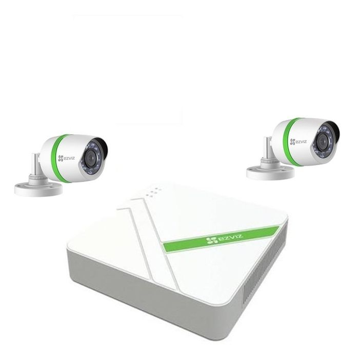 EZVIZ Full HD 1080p 4 Channel, 2 X 1080p Bullet Cameras & 1TB DVR CCTV Kit