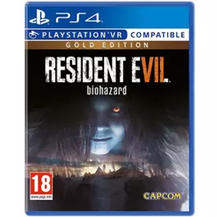 Resident Evil 7 Gold Edition PS4 12.99 at MyMemory