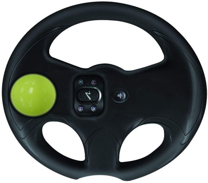 Best Price! Pair & Go Move Wheel Sony Playstation 3 Driving Game