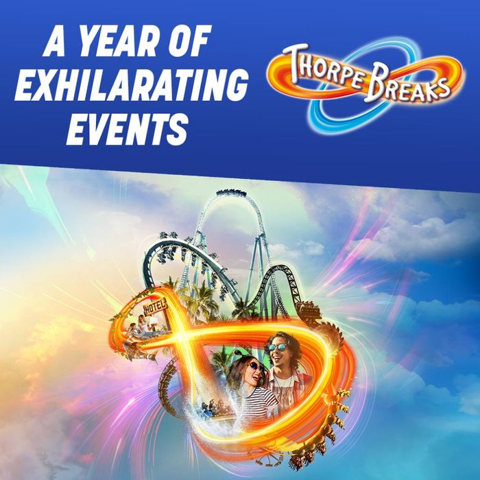 Thorpe Park Stay Inc Breakfast, Extras + 2 Days In Park From £47pp!