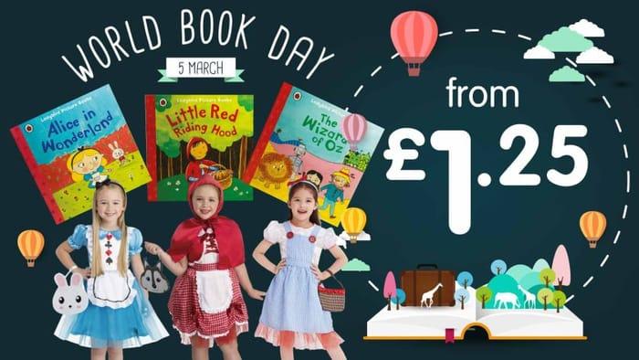 World Book Day Books £1.25 - £2.50