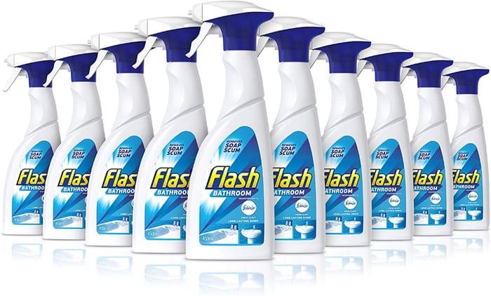 Flash Bathroom Spray, 450 Ml, Pack of 10