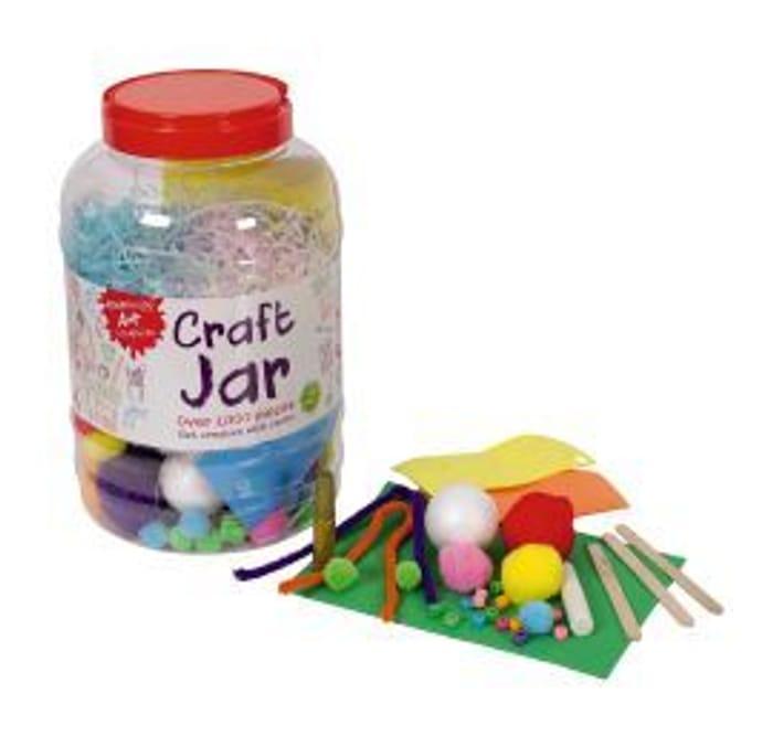 Art Essentials: Craft Jar - Assorted Contents