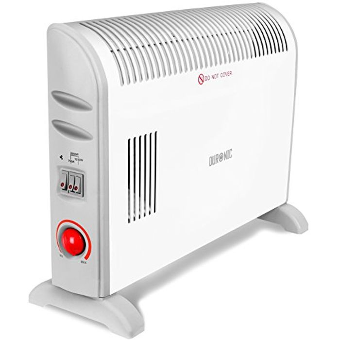 Duronic Convector Heater HV120 | 2kW/2000w
