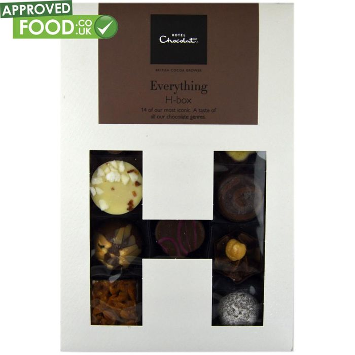 Hotel Chocolat the Everything H-Box at Approved Food