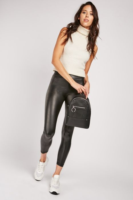 Skinny Faux Leather Leggings - Only £5!