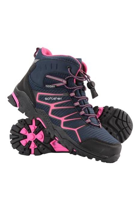Softshell Kids Walking Boots