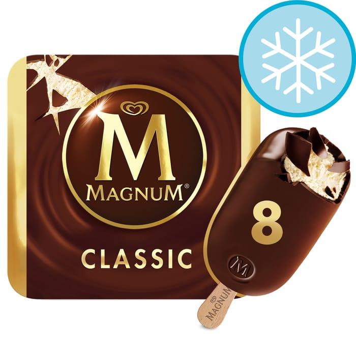 Magnum Classic Ice Cream 8X110ml