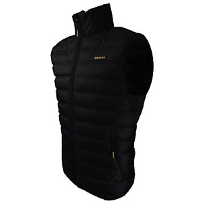 Stanley Seattle Ripstop Gilet - Black 33%off at Wickes )