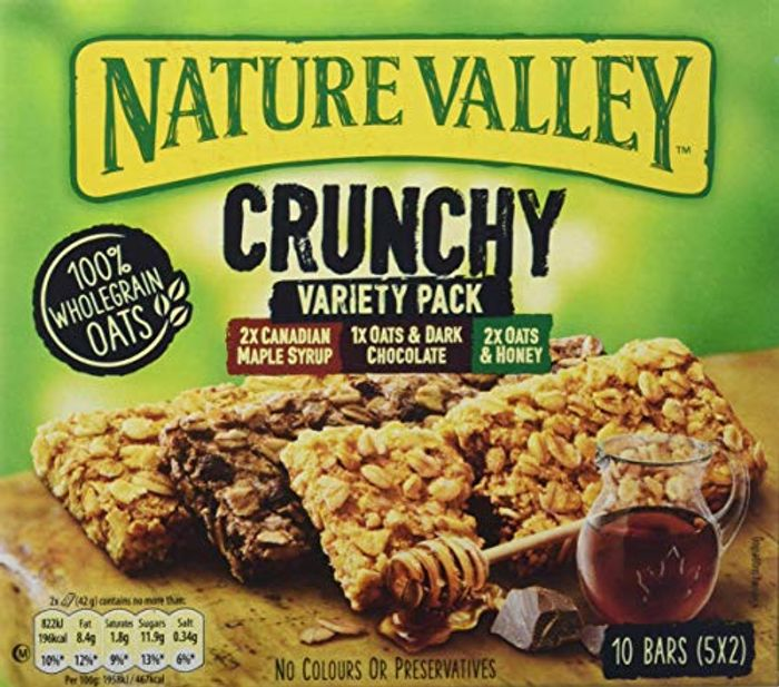 Nature Valley Crunchy Variety Cereal Bars- 25 Pack