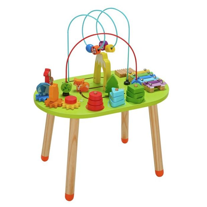 Chad Valley Wooden Activity Table - Only £20