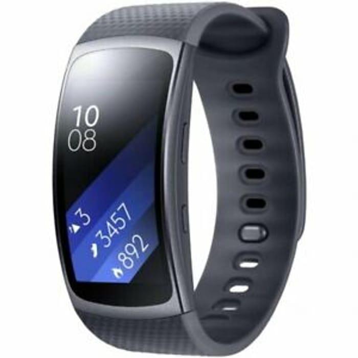 Samsung Gear Fit 2 Smart Watch SM-R360 Activity Tracker Black