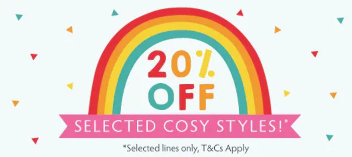 20% off Selected Cosy Lines
