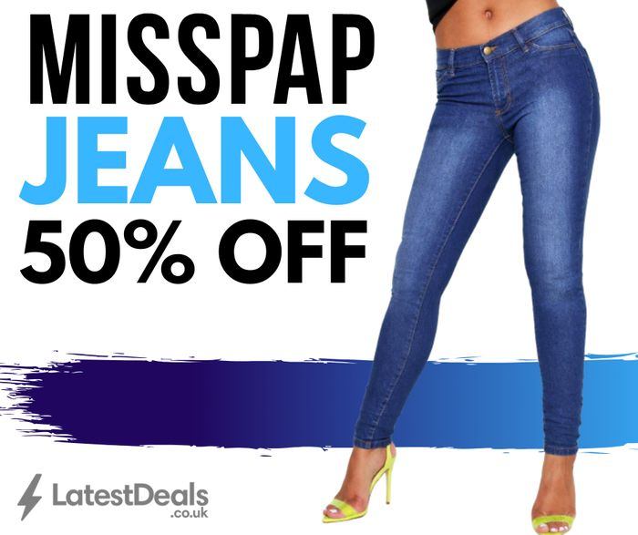 50% Off JEANS at MISSPAP