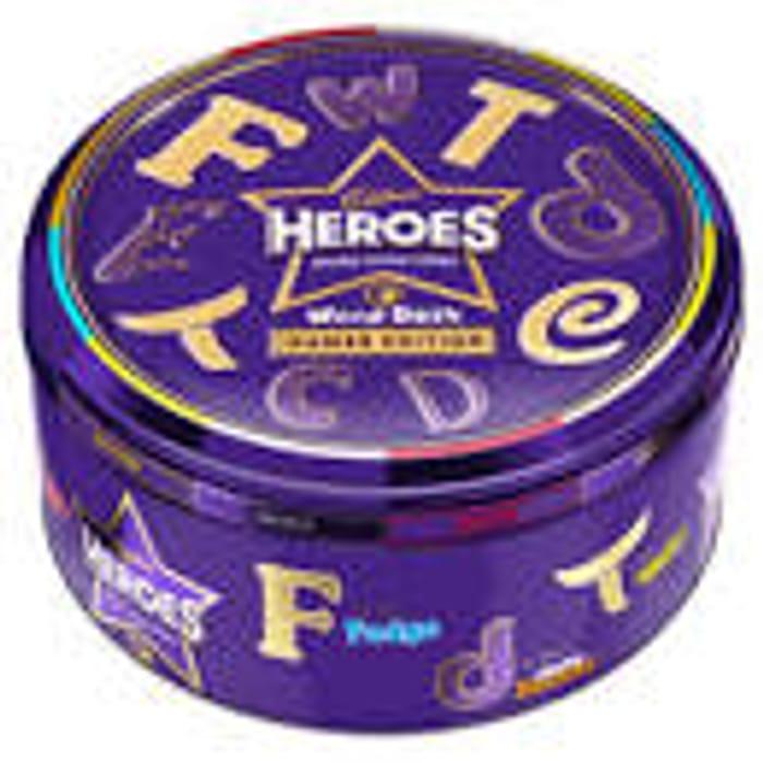 Cadbury Heroes Chocolate Tin Games Edition 800g