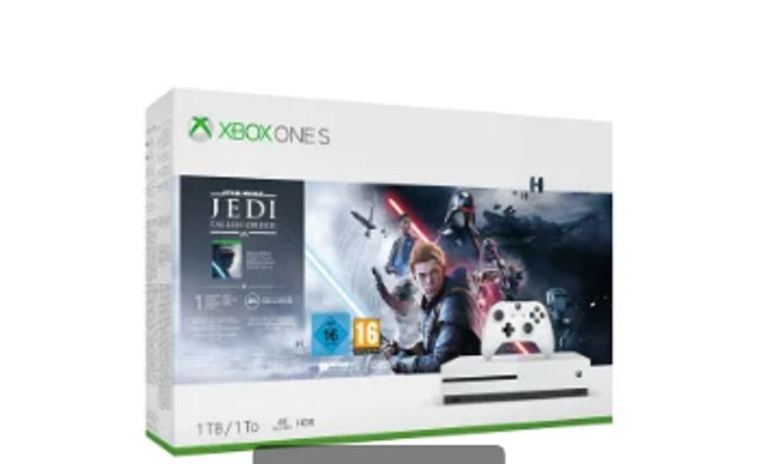 1TB XBOX ONE S with STAR WARS JEDI FALLEN ORDER and NOW TV Only £209