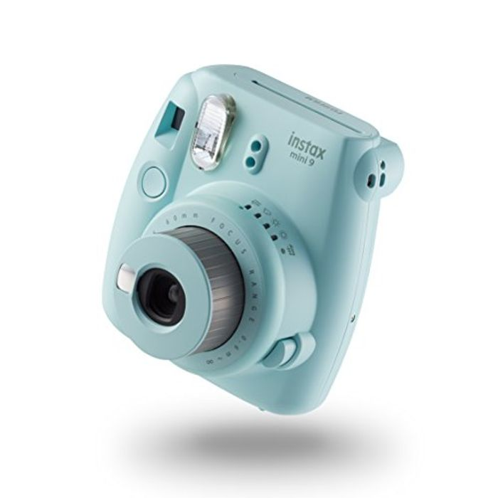 £30 off at AMAZON! Instax Mini 9 Camera with 10 Shots - Ice Blue