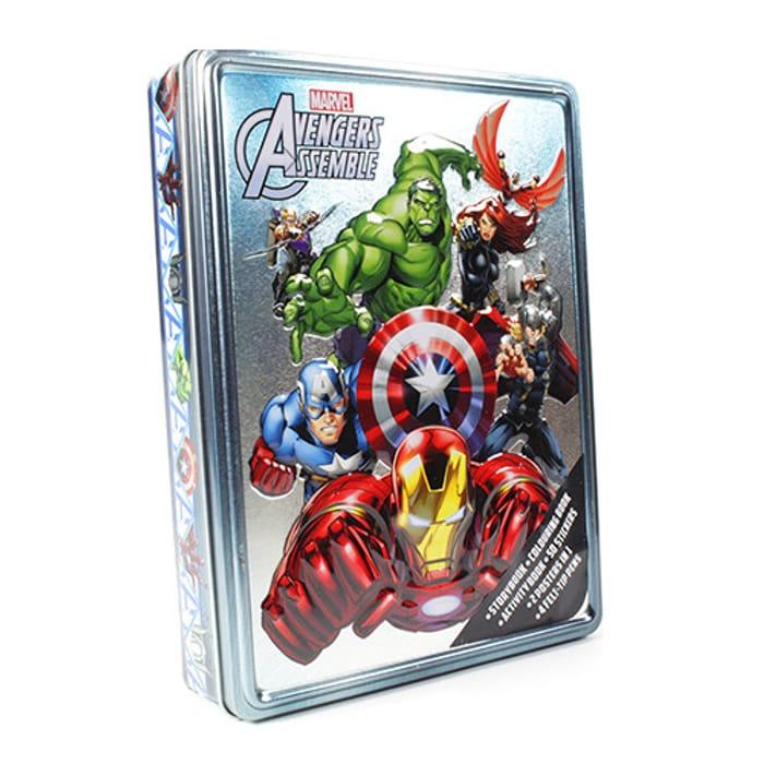 Marvel Avengers Mega Tin Activity Set on Sale From £16.99 to £4.87
