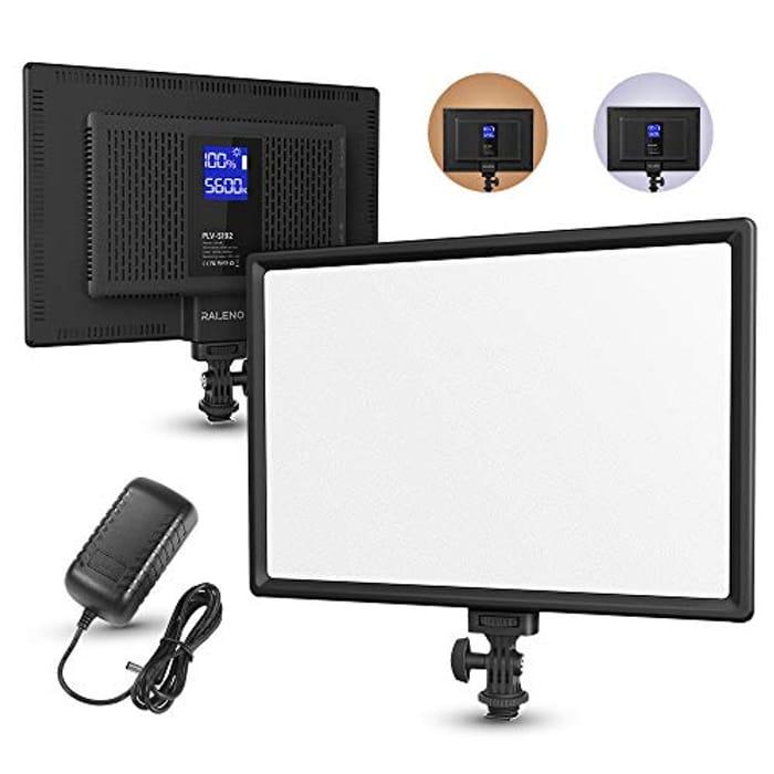 LED Video Light, 192 LEDS Ultra-Thin Panel