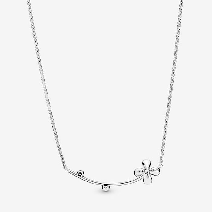 Four-Petal Flower Necklace on Sale From £80 to £39