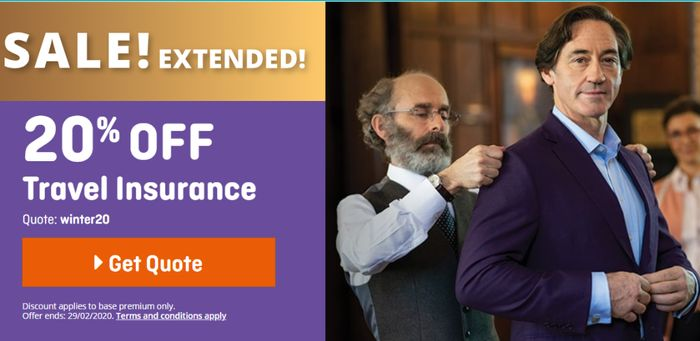 Sale Extended At Staysure Travel Insurance Get 20% OFF