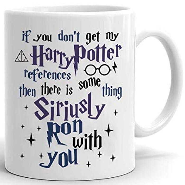 If You Don't Get My Harry Potter References Ceramic Mug