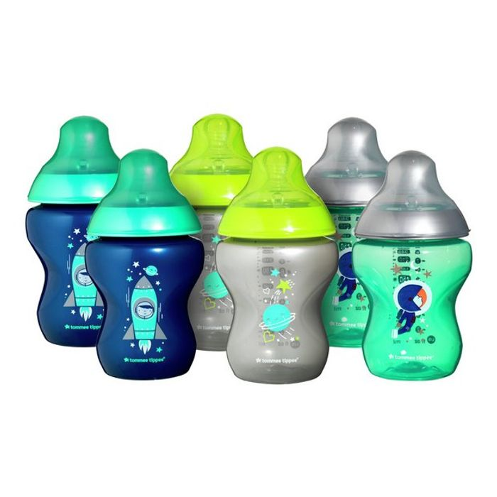 Bargain! Tommee Tippee 6 X 260ml Decorated Bottles at Argos