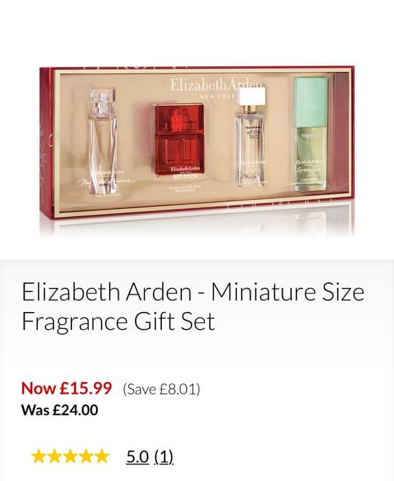 Elizabeth Arden - Miniature Size Fragrance Gift Set