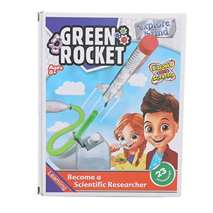 Practicool Science Researcher (Green Rocket)- save £8