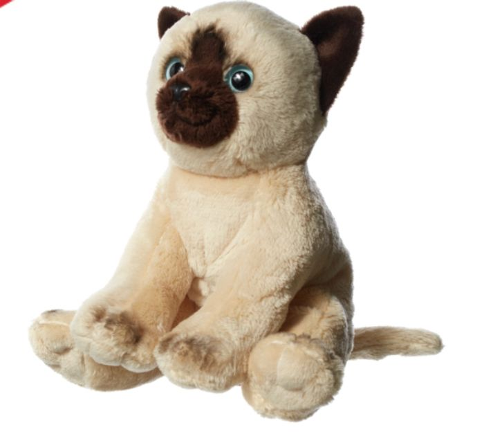 Cheap Hamleys Siamese Cat Soft Toy, Only £4.50!